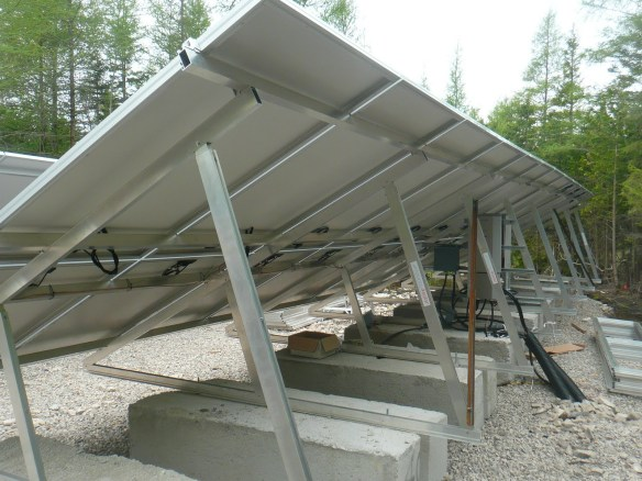 Cement ballasted solar photovoltaic windsor ontario
