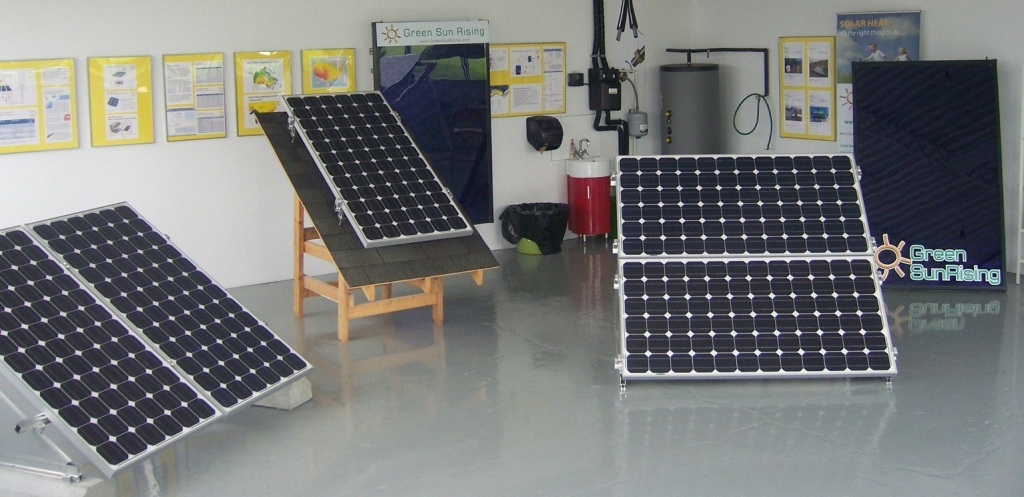 Solar mounting photovoltaic fixture