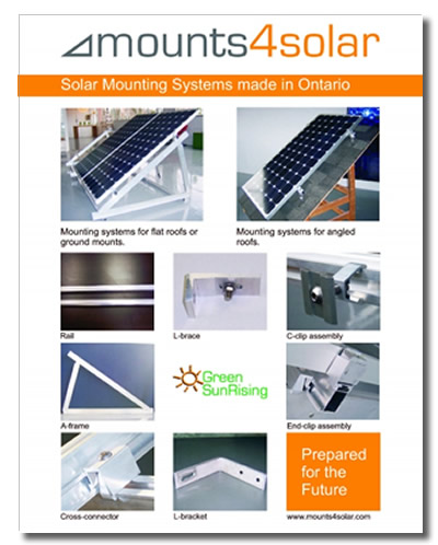 mounts4solar 2009 brochure