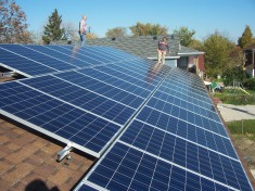 Photovoltaic Sloped roof solar mounting system